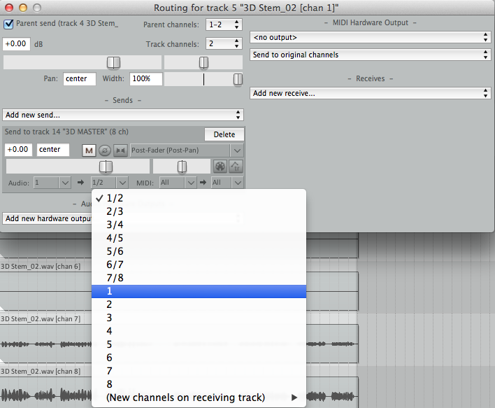 Importing Pro Tools' 8 Channel 3D Mix Into Reaper — Facebook